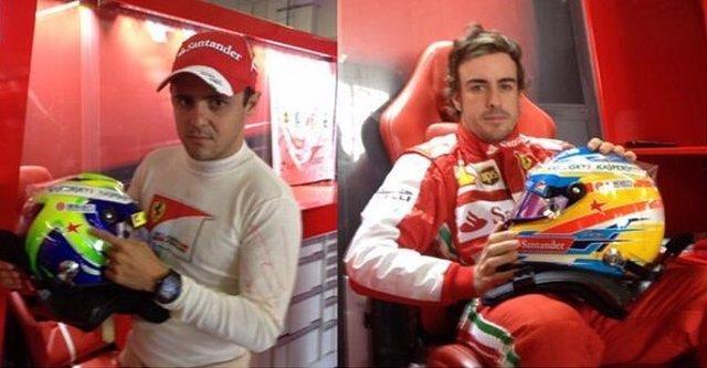 Felipe Massa Fernando Alonso homenaje María de Villota Japón