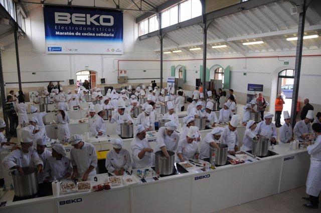 Beko Electrodomésticos organiza un maratón de cocina solidaria
