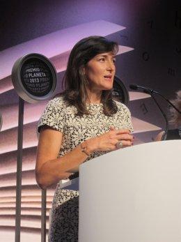 González-Sinde, finalista del Premio Planeta 2013
