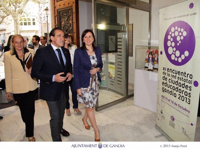 Inauguracion XI Encuentro de la RECE