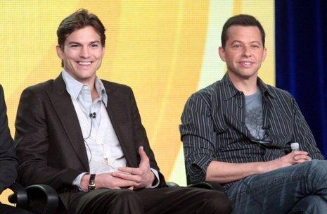 Ashton Kutcher y Jon Cryer