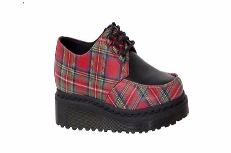 De Dr Teddy Gruesa Vuelven Martens Zapatos Suela Con Los Boys IHCqPw