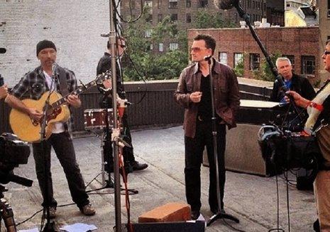 U2 estrena 'Ordinary' para 'Long Walk to Freedom'