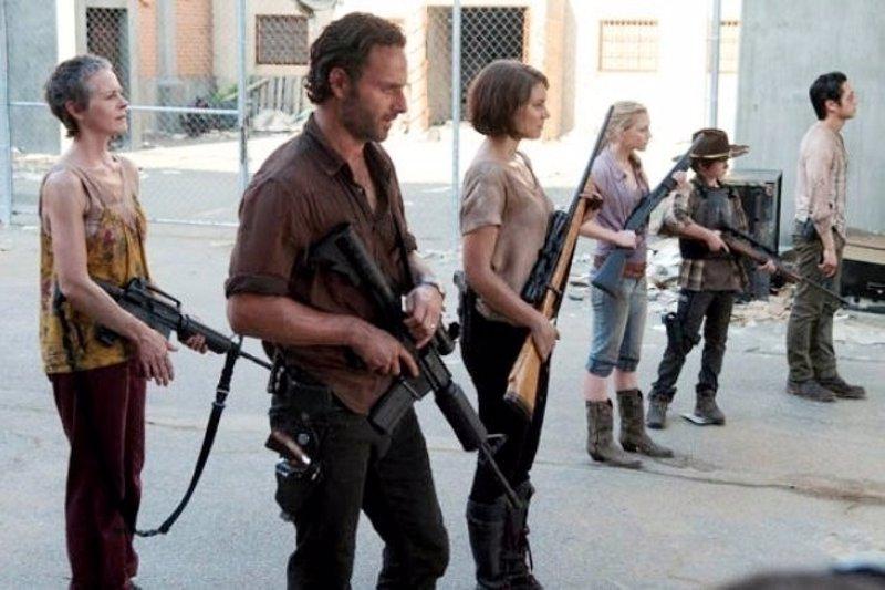 """Andrew Lincoln ('The Walking Dead'): """"El grupo se dividirá irrevocablemente"""""""
