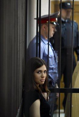 Nadezhda Tolokonnikova, de las Pussy Riot