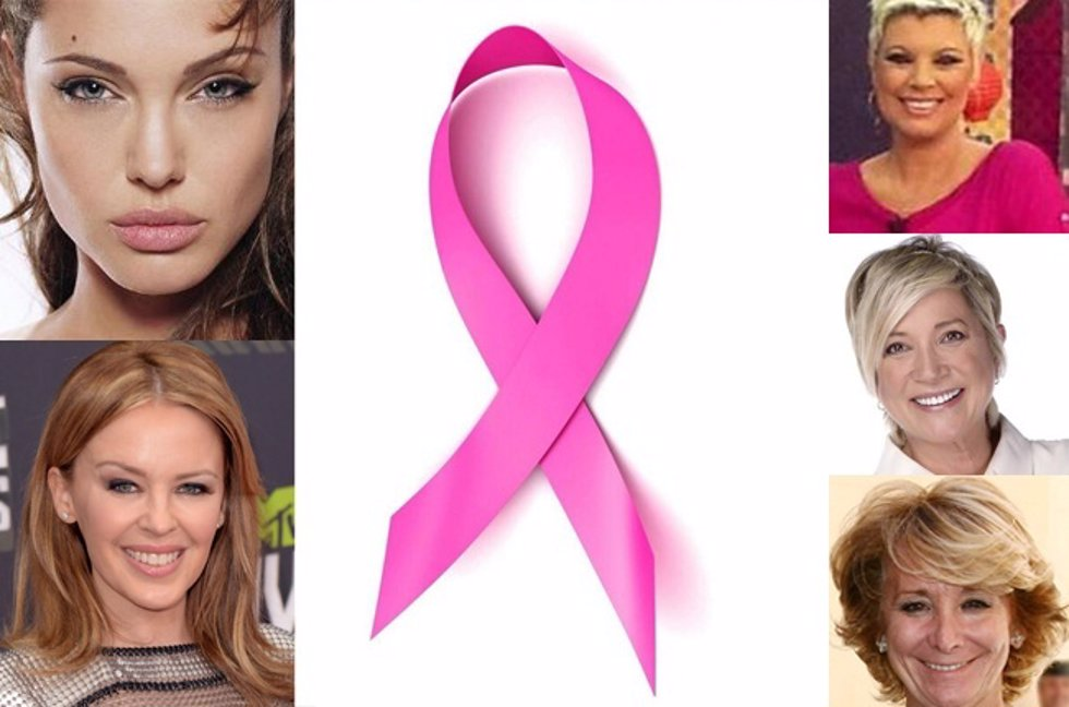 Famosas que hicieron frente al cáncer de mama