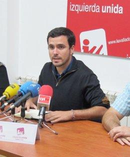 El diputado de Izquierda Unida Alberto Garzón
