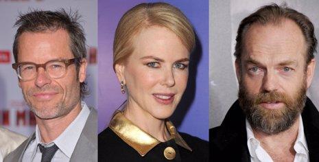 Guy Pearce, Nicole Kidman y Hugo Weaving