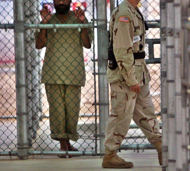 Centro penitenciario de la Bahía de Guantánamo, en Cuba