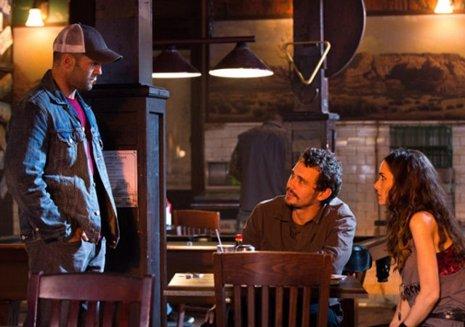 Jason Statham y James Franco en 'Homefront'