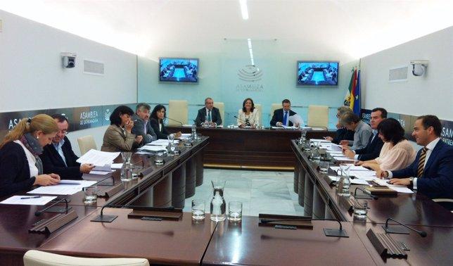 Juan de Portavoces en el Parlamento de Extremadura