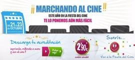 Éxito total de La Fiesta del Cine que dispara un 550% el número de espectadores