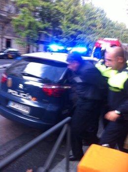 Imagen del detenido que entró en casa de Luis Bárcenas