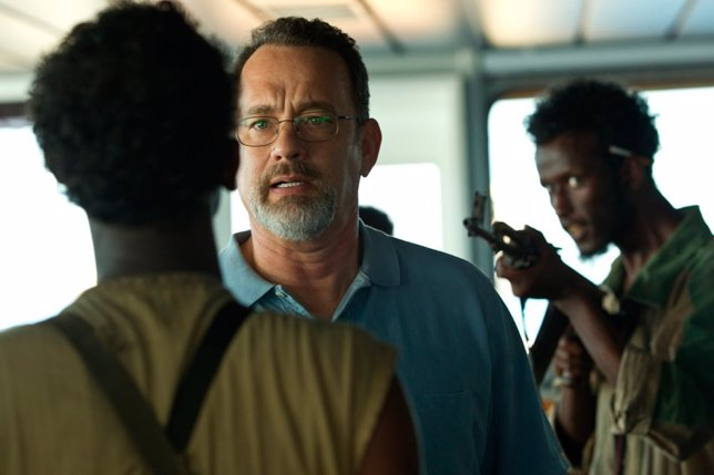 Tom Hanks en Capitán Phillips