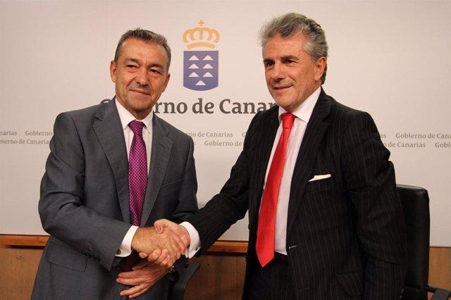 Rivero y García, tras la firma del acuerdo