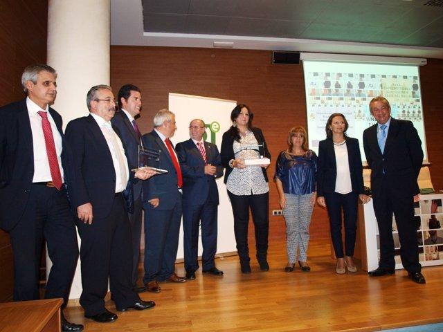 Entrega de los premios Andalucía Emprende en su fase provincial en Jaén.