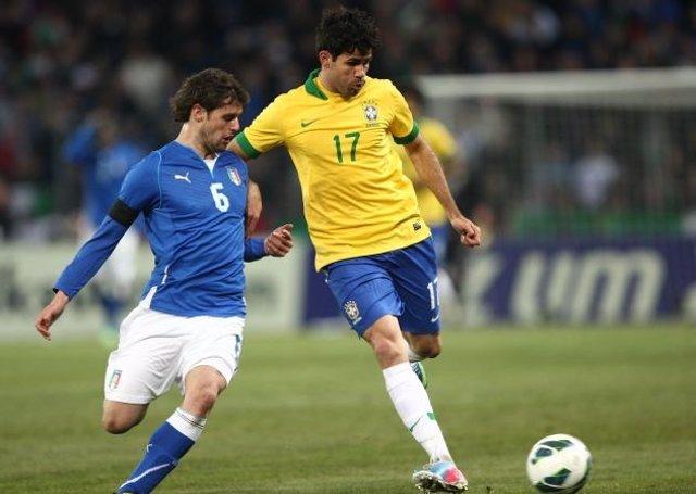 Diego Costa, convocado con Brasil