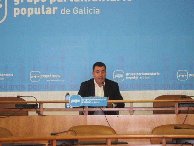 El diputado del PPdeG Román Rodríguez