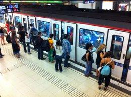 Metro de Barcelona huelga del 17 de septiembre de 2012