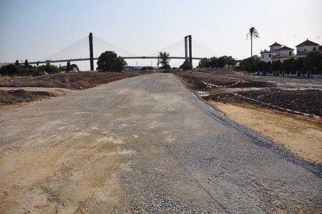 Construcción de la carretera