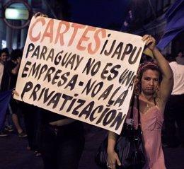 Manifestaciones contra la Alianza Público-Privado