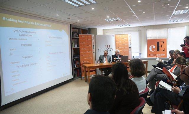 Presentación Merco Persona España 2013