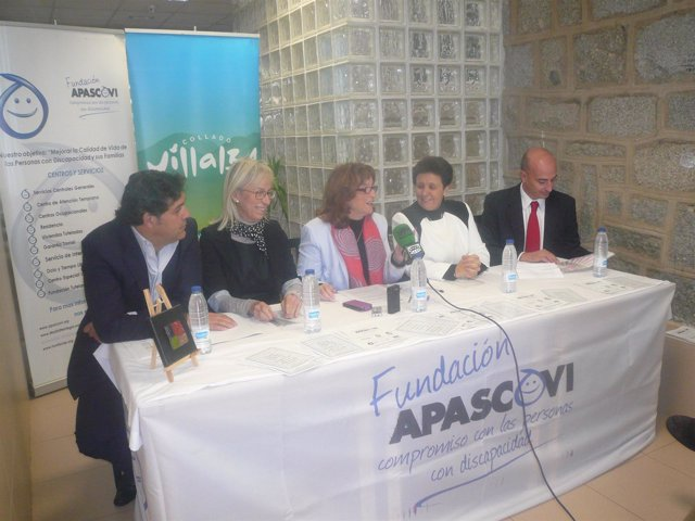 Firma convenio de APASCOVI