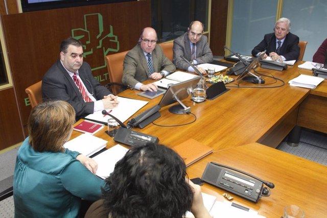 Darpón en Comisión parlamentaria