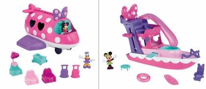 ¡Llévate el yate o el avión de Minnie con Hacer Familia!
