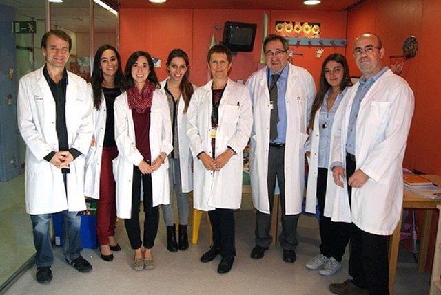 El grupo de investigación en cáncer infantil del VHIR