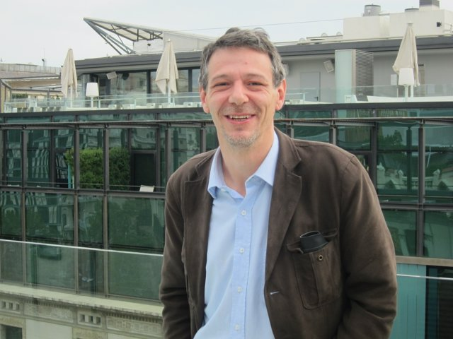 El escritor Álvaro Enrigue