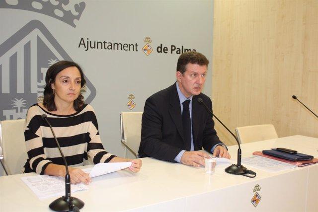 Sebastiá Sansó en rueda de prensa