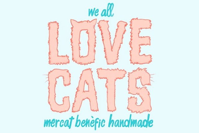 Logo del mercado We Love Cats Market