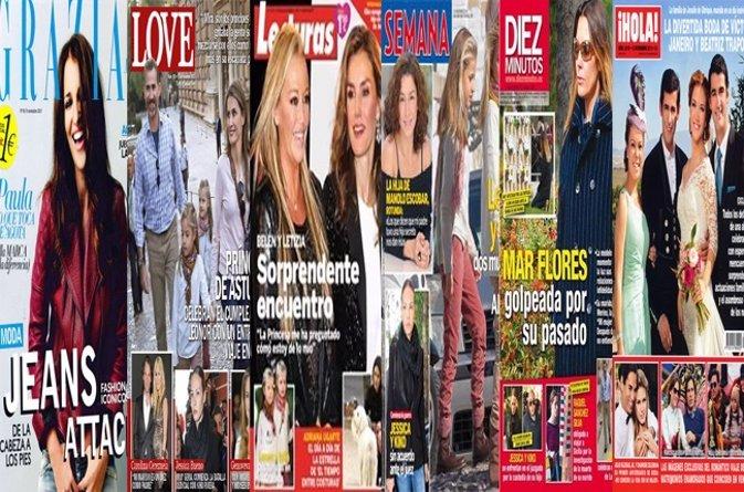 Quiosco de Revistas del 06 Noviembre 2013