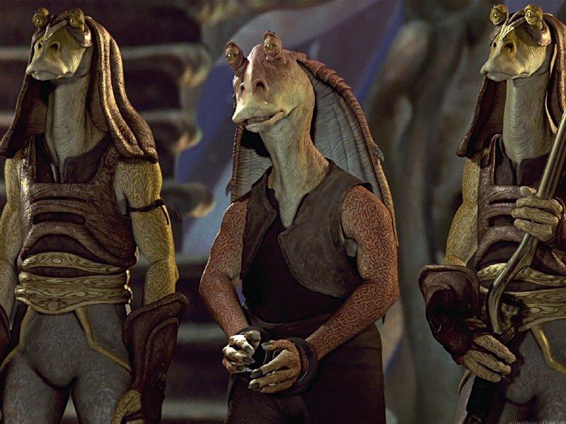 ¿Mató George Lucas a Jar Jar Binks en el Episodio I de Star Wars?