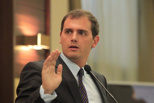 Albert Rivera, líder de Ciutadans (Archivo)