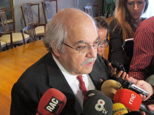 El conseller Andreu Mas-Colell