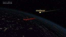 El Chelyabinsk irrumpió en la atmósfera a 19 km/s