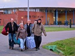El etarra Domingo Troitiño abandona la prisión de Teixeiro