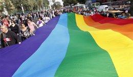 Desfile por el orgullo gay en Lima