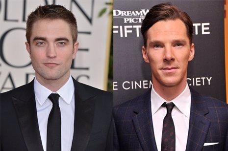 Pattinson y Cumberbatch