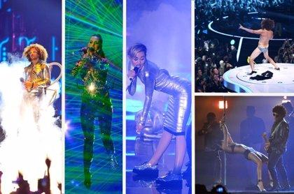 Katy Perry, Eminem y One Direction triunfan en los MTV EMA