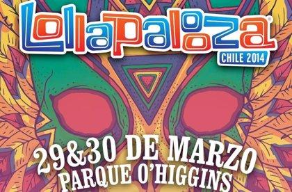 Carteles de Lollapalooza Chile, Argentina y Brasil