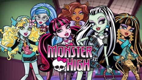 Habrá película sobre las Monster High