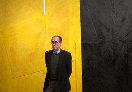 El pintor Rafael Canogar en el IVAM
