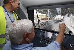 Ricardo Martinelli en recorrido por Metro de Panamá