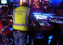 Guardia Civil desmantela organización que robaba recaudación máquinas recreativa