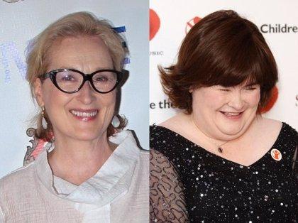 ¿Meryl Streep se convertirá en Susan Boyle?