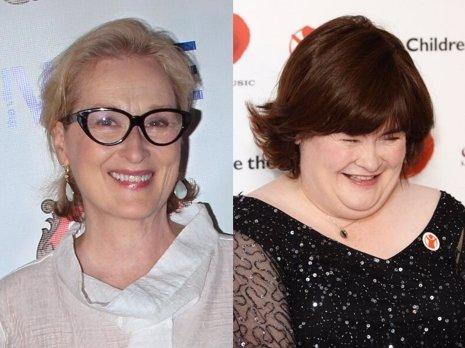 Meryl Streep podría interpretar a Susan Boyle