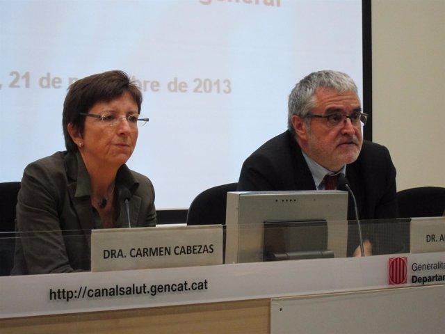 C.Cabezas y A.Mateu (director Aspcat)